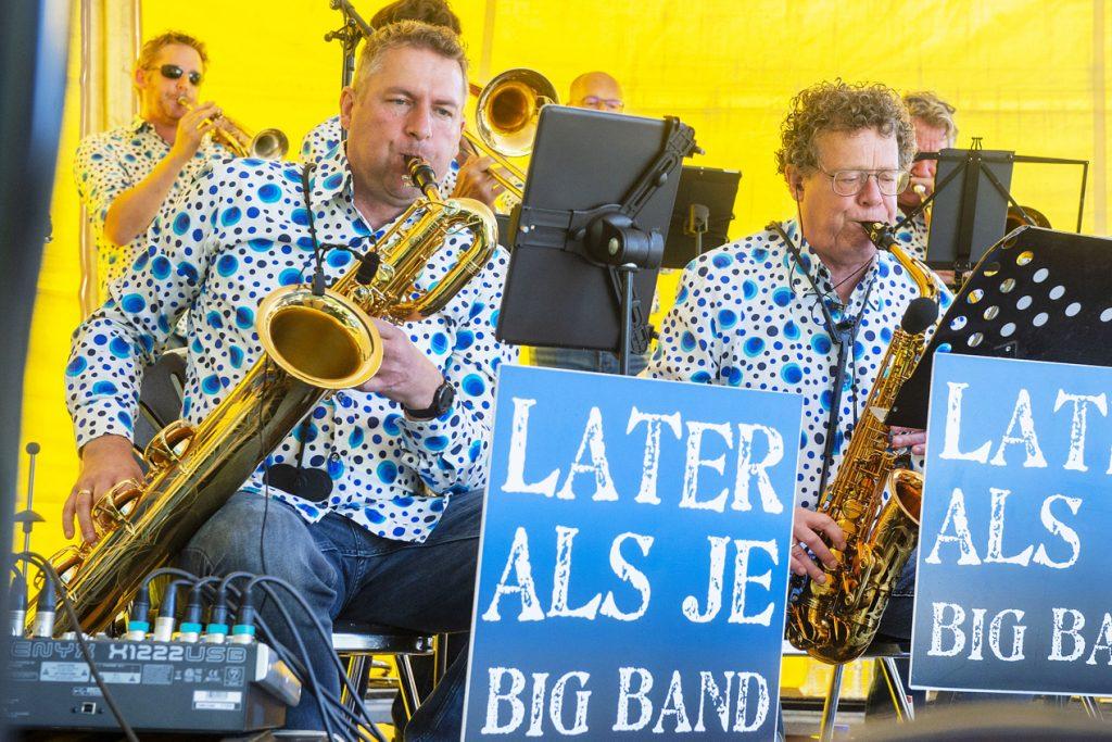 Later als je Bigband op Leusden Jazz